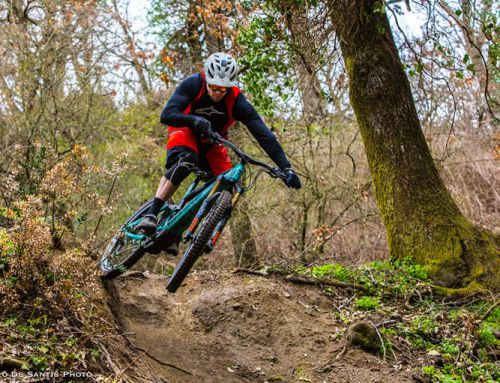 Mountain Bike Moustache in prova